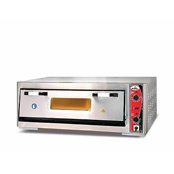 Atalay Elektrikli Pizza Fýrýnlarý Tek Katlý 92x62. APF-962/1