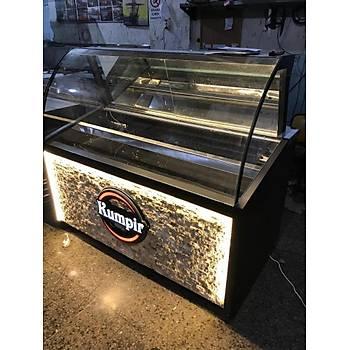 Kumpir ve Waffle Dolabý Black Model