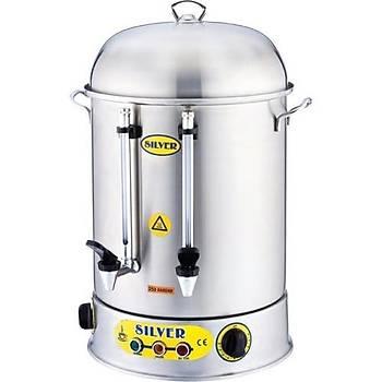 Metal Musluk Ýkazlý Çay Makinesi 120 Bardak