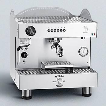 Bezzera B2016DE 1GRTC Espresso Kahve Makinesi, Tall Cup, Tam Otomatik, 1 Gruplu