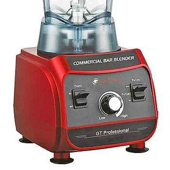 GTech Profesyonel Bar Blender, 1500 W, 2 L, Kýrmýzý