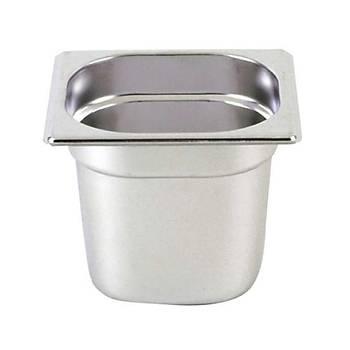 Gastronorm Küvet, Standart (GN 1/6 - 65 mm)