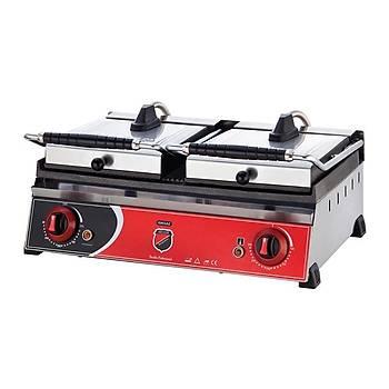 Elektrikli Çift Kapaklý Hamburger Makinesi