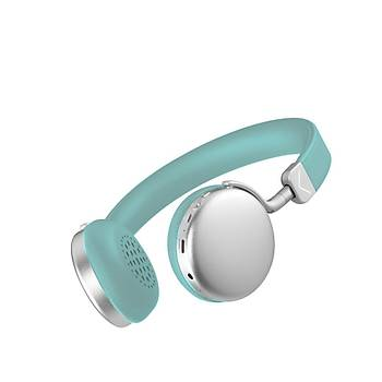 Desibel K550 Bluetooth Kulaklýk Turkuaz