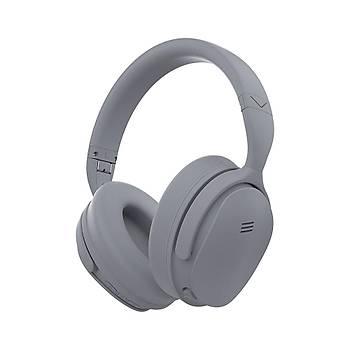 Desibel K650 Bluetooth Kulaklýk Gri