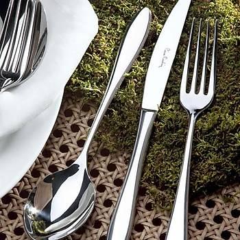 Pierre Cardin Jasmine 89 Parça Çelik Çatal Býçak Seti