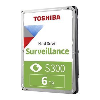 6TB TOSHIBA 7200RPM S300 SATA3 256MB 7/24 HDWT360UZSVA
