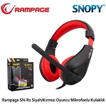 Snopy Rampage SN-R2 Oyuncu Kulaklýk Mikrofon