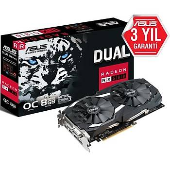 Asus DUAL-RX580-O8G-GAMING 8GB 256Bit GDDR5