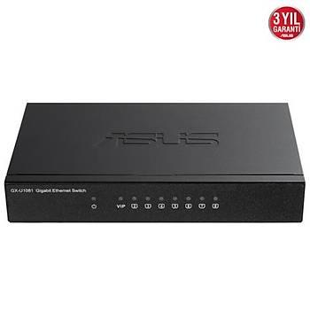 Asus GX-U1081 8port Gigabit Switch