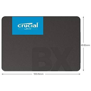 Crucial BX500 120GB 3DNAND SSD Disk CT120BX500SSD1