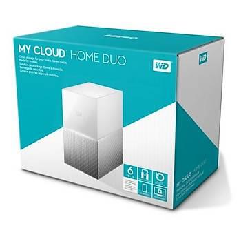 WD 3,5 6TB My Cloud Home Duo WDBMUT0060JWT Beyaz