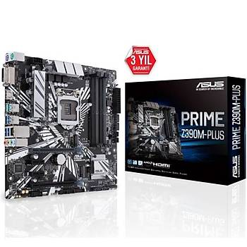 Asus PRIME Z390M-PLUS DDR4 S+V+GL 1151