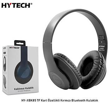 Hytech HY-XBK85  Siyah Bluetooth Kulaklýk