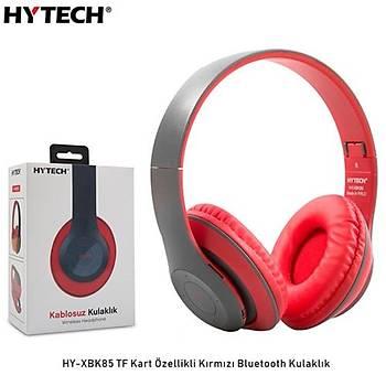 Hytech HY-XBK85  Kýrmýzý Bluetooth Kulaklýk