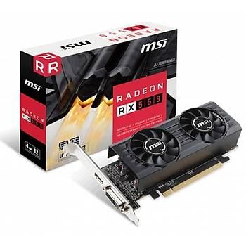 MSI RX550 4GT LP OC 128Bit GDDR5