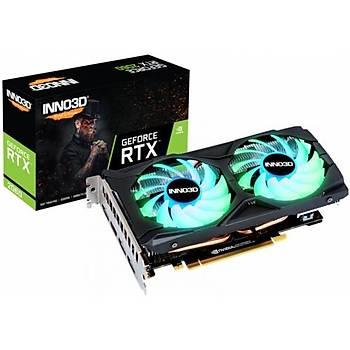 Inno3D RTX2060 Twin x2 OC RGB 6GB 192Bit GDDR6