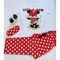 Minnie Mouse Baskýlý Pijama Takýmý