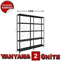 Çelik Raf  43*150*200 2 Li