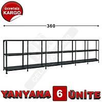 Çelik Raf  31*360*100 6LI