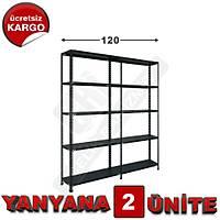 Çelik Raf  43*120*200 2 Li