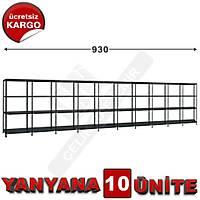 Çelik Raf  31*930*150 10LU