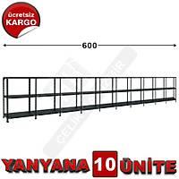 Çelik Raf  31*600*100 10LU
