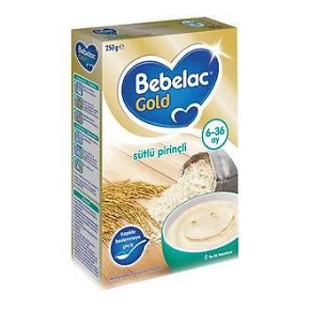 Bebelac Gold Sütlü Pirinçli 250 Gram