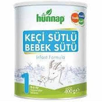 Hünnap Keçi Sütlü Bebek Sütü 1 400 gr