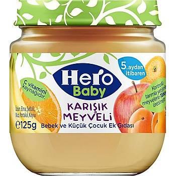 Hero Baby Karýþýk Meyveli Kavanoz Mamasý 125 gr