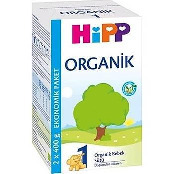 Hipp 1 Organik Bebek Sütü 800 gr