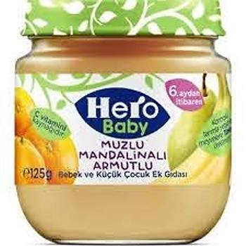 Hero Baby Muzlu Mandalinalý Kavanoz Mamasý 125 gr