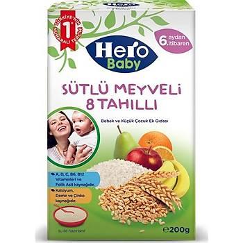 Hero Baby Kaþýk Mamasý 8 Tahýllý Meyveli 200 gr