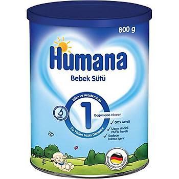 Humana 1 Bebek Devam Sütü 800Gr