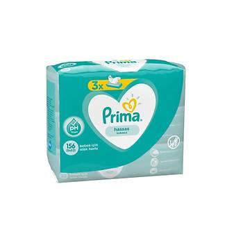 Prima Sensitive 3x52 Adet Islak Mendil