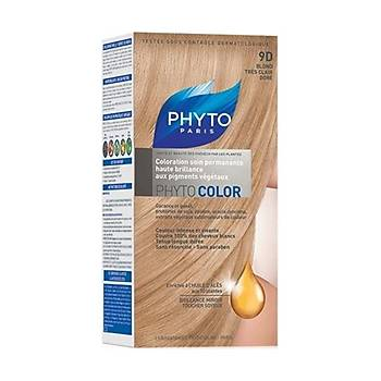 Phyto Color 9D Very Light Golden Blond - Saç Boyasý