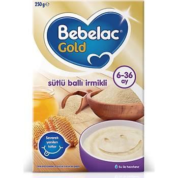 Bebelac Gold Sütlü Ballý Ýrmikli 6-36 Ay 250 gr