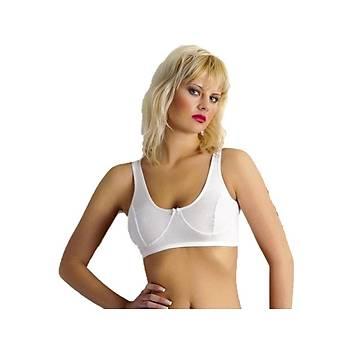 Anýt Bayan Ribana Body Sütyen Beyaz Renk Yarým Atlet 2116