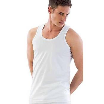 Emay Erkek Atlet Erkek Askýlý Atlet Beyaz 12210
