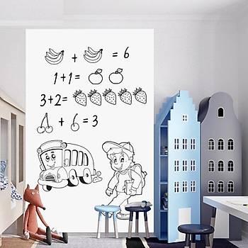 Yapýþkanlý Beyaz Yazý Tahtasý Sticker Board