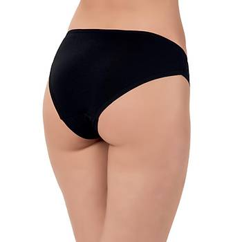 5 Adet Lüx Drm Kelebek Bayan Bikini Külot Slip 2004