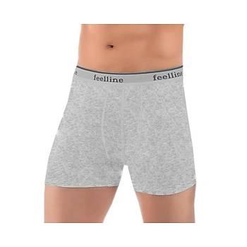 6 lý Paket Feelline 1003 Erkek Likralý Boxer