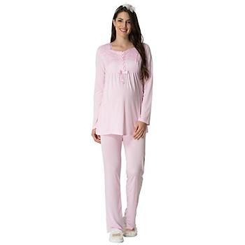 Mecit 5414 Bayan Hamile Lohusa Pijama Takýmý
