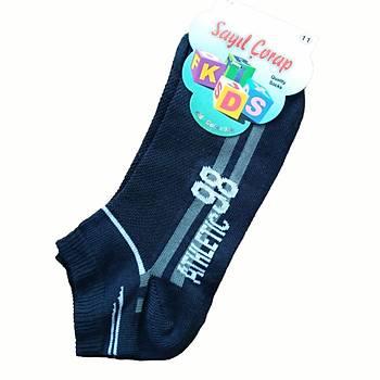 6 Çift Sayýl Erkek Çocuk Patik Çorap Kýsa Çorap