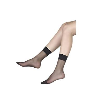 6 Çift Müjde Bayan 20 Denye Soket Çorap Ýnce Kýsa Soket Çorap