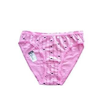 6 lý Paket Tutku Bayan Desenli Bikini Külot M Beden Standart