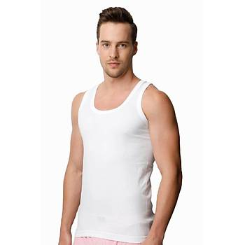 Donex 1001 Erkek Penye Atlet Yüzde Yüz Pamuklu Beyaz