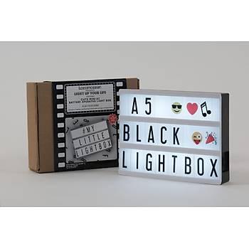 A5 Iþýklý Harfli Dekoratif Led Pano Lightbox