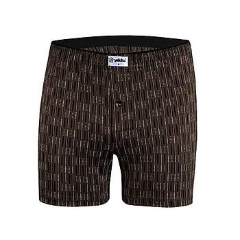 6 Adet Yýldýz Erkek Taþma Lastik Desenli Penye Boxer Short 43