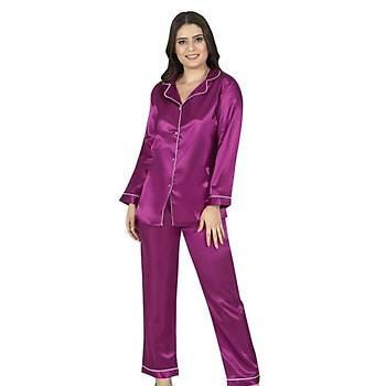 Sistina 1627 Bayan Saten Pijama Takýmý